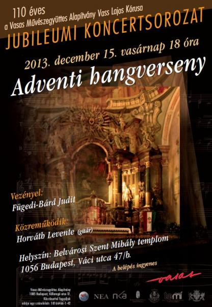 Karácsonyi koncert 2013.12.15.