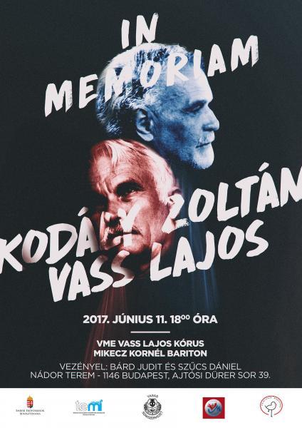Vass-Kodály emlékkoncert 2017