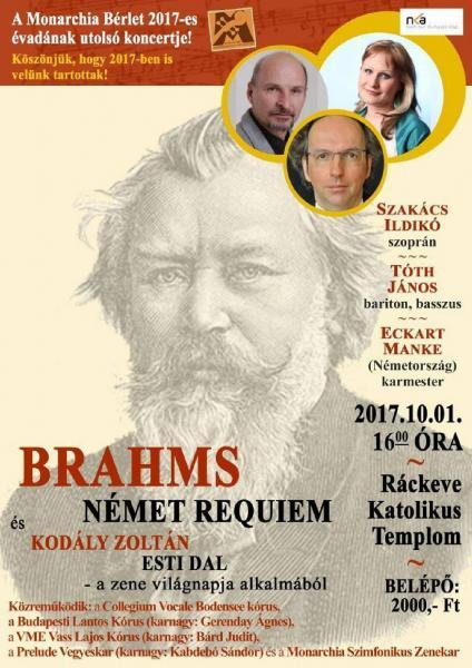Brahms: Német Requiem, Ráckeve