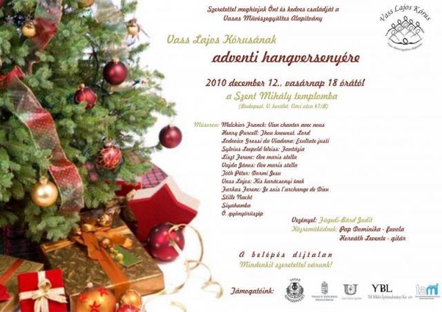 Karácsonyi Koncert 2010.12.12.